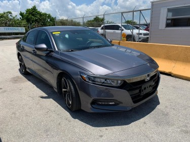 2018 Honda Accord Sport | New Import!