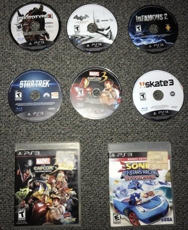 PS3 Cds Bundle Deal