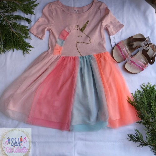 Girls Dress Size 5 And Sandals Size 10 Toddler