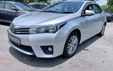 2015 TOYOTA COROLLA ALTIS CLEARANCE