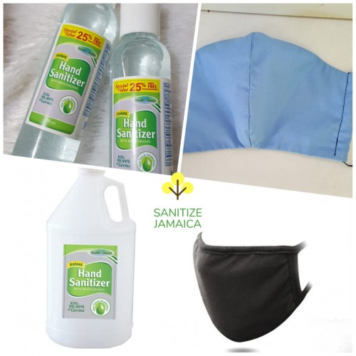 Gallon Hand Sanitizer Face Shields Masks Dispenser