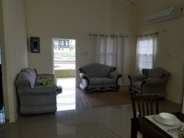 3 Bedrooms 3 Bathrooms Fully Finished  With AC