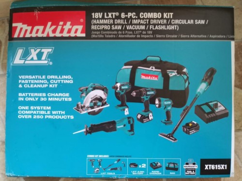 Makita 6 Tool Kit Basically 25K Each Tool Cant Bea