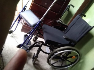 Wheel Chair And Seated Walker
