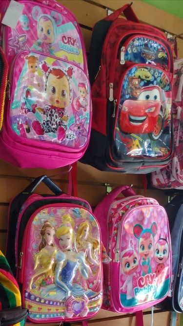 SCHOOL BAGS WITH LUNCH CASE SPECIAL $1000