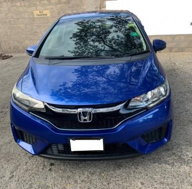 2016 Honda FIT Electric Blue