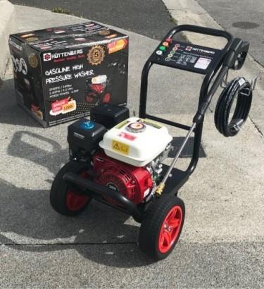 New 8500W Generator & Used 3500psi Pressure Washer