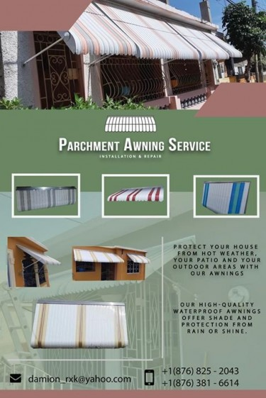 Parchment Awning Service Installation & Repairs