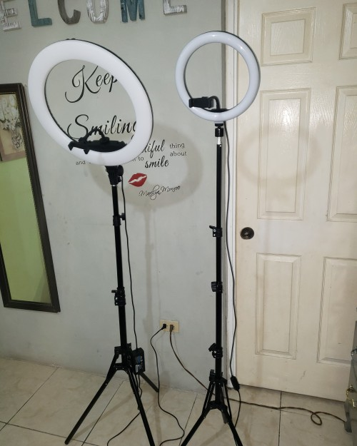 Ring Light And Health And Wellness Products