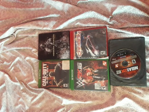 Xbox Cd And Ps3 Wah Let Go Now 2k And 1k Intereste