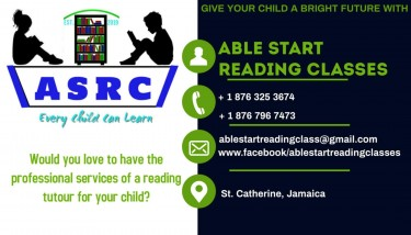 Able Start Reading Classes