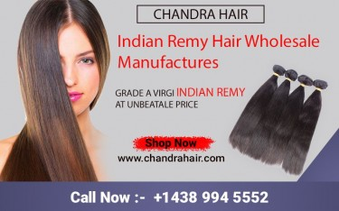 Indian Remy Hair Extension Supplier | Chandra Hair