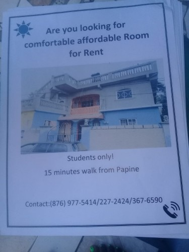 1 Bedroom Flats For STUDENTS ONLY (PAPINE AREA)