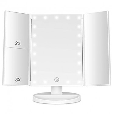 Touch Screen Vanity Mirrors With Led Lights