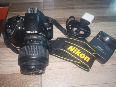 Used Nikon D3000 With Kit Lens + Charger For Sale