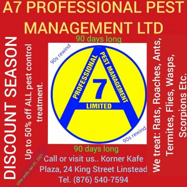 PEST CONTROL SERVICES AT IT'S BEST
