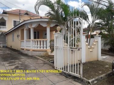 BOGUE VILLAGE 2 BEDROOM 1 BATH HOUSE FOR RENT