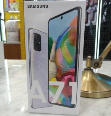 BNIB Samsung Galaxy A71 (128 Gigs)