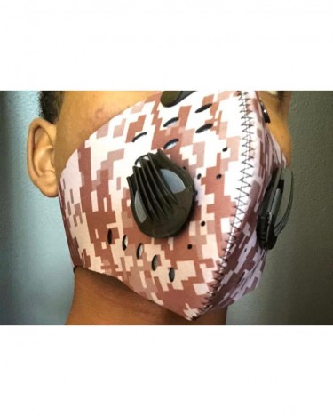 Sports/Altitude/Cycle Mask W/ Particulate Filters