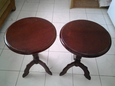 2 Sofa Side Tables