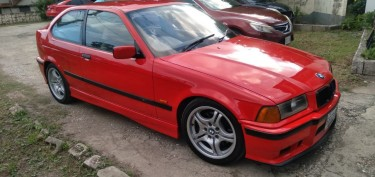 1998 Red BMW 3 Series