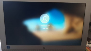 HP - All In One PC (Desktop)