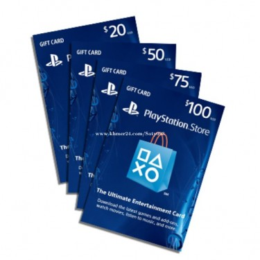 PlayStation, Xbox, Nintendo And Steam Gift Cards
