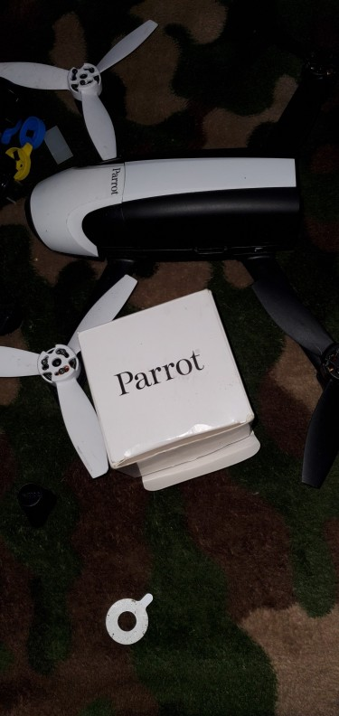 Drone With Eye Gear