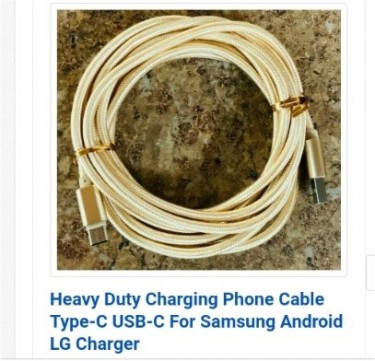 Strong Braided Durable Long Lasting Android USB C