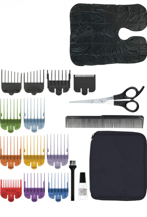 Deluxe Color Pro HairCutting Kit 23pc