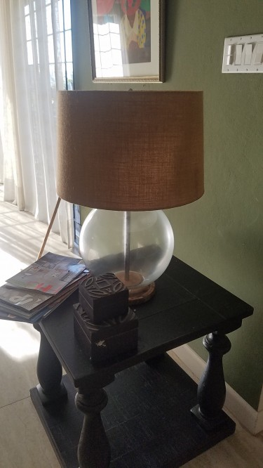 Ashely Decorative Table Lamp For Sale
