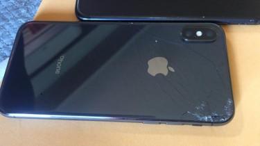 IPhone X RSIM Cracked Back 64GB