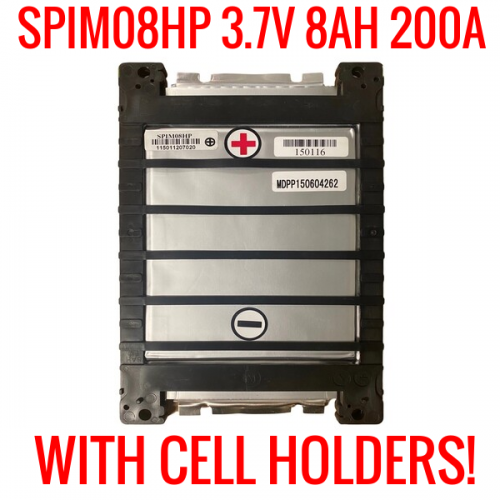 SPIM08HP LITHIUM ION 3.7V 8AH CELLS
