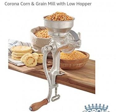 MANUAL FOOD GRINDER-mills ANY Grain To Powder/crea