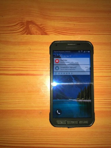 Samsung Galaxy S5 Active With Charger No Faults!
