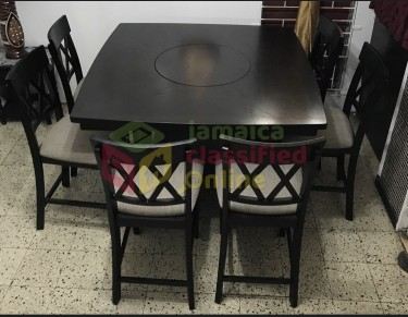 8 Seater Dining Table With Bench
