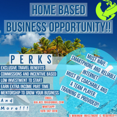 Home Based Business Opportunity (Verified Legit)