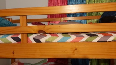 Top Single Bunk Bed Frame ONLY. Not Entire Bed