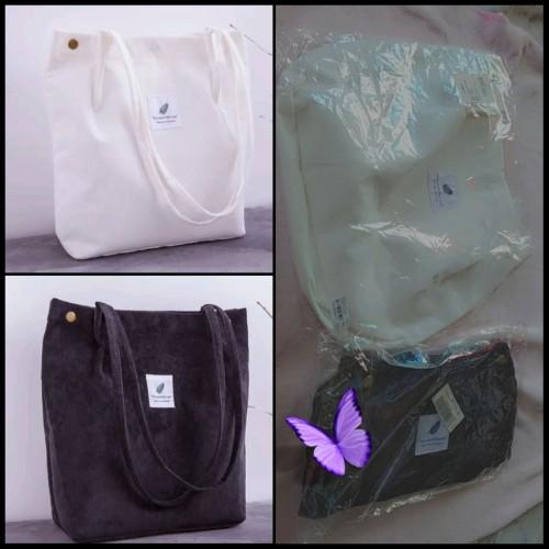 Corduroy Tote Handbags