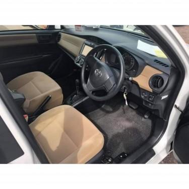 Clean White Toyota  Corolla Axio #Drive In Comfort
