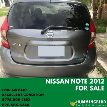 Nissan Note 2012 For Sale