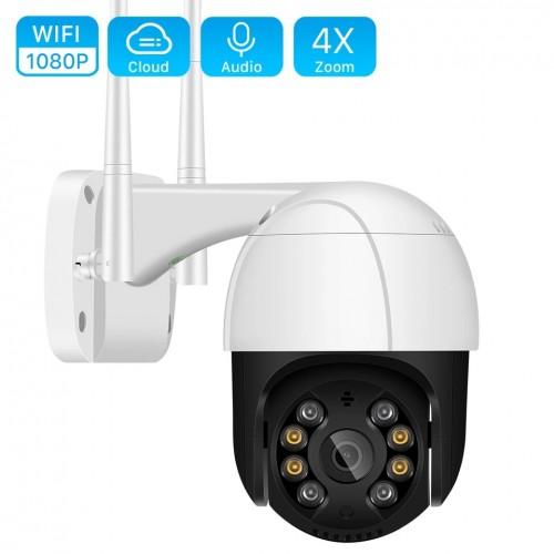 PTZ Wifi Ip Outdoor Camera
