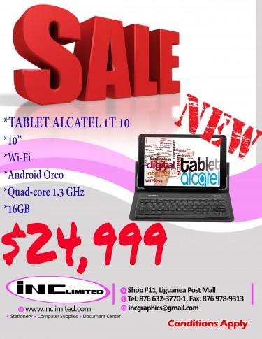TABLET ALCATEL 1T 10