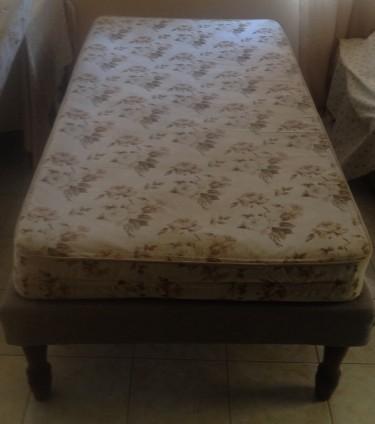 2 Single Beds (Mattress And Base) Each