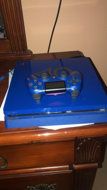 Limited Edition Discontinued PS4 Slim