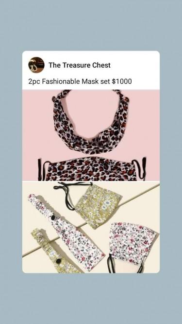 Fashionable Mask 3 Set