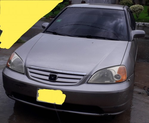 2001 HONDA CIVIC LHD FOR SALE IN PORTMORE 380K!