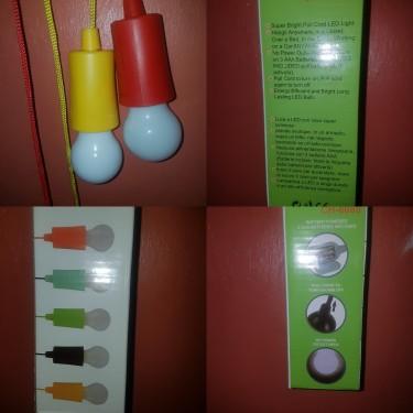 Led Pull Cord Battery Light