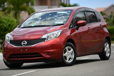 2015 NISSAN NOTE FULLY LOADED RED MOST SELL.