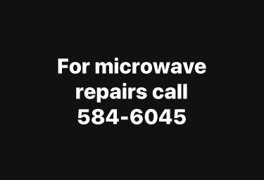 Get Your Microwave Repairs In Minutes!